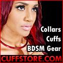 Cuffstore.com   Slave Collars, Handcuffs, Legirons, BDSM & More